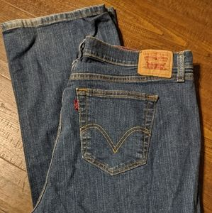 Women's Levi 550 Blue Jeans 22W pants